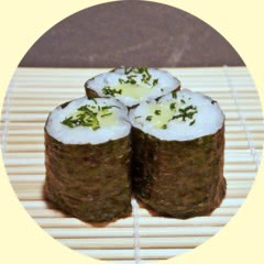 Photograph of Cucumber-Dill-Maki