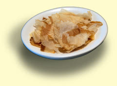 Photograph of bonito flakes