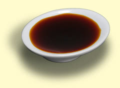 Photograph of soy sauce