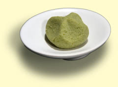 Photograph of wasabi